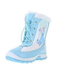 冰雪奇缘女童 Frozen -20 雪花雪地靴