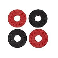 Perris Leathers   皮带锁 - 黑色和红色