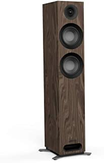 Jamo S 807 200 W 黑色核桃扬声器 – LOUDSPEAKERS(有线,200 W,42 – 26000 Hz,8 Ω,黑色核桃色)