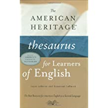 American Heritage Thesaurus for Learners of English (English Edition)