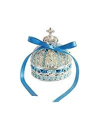 [PIEARTH] PIEARTH 皇冠丝带(银蓝色) EX5922