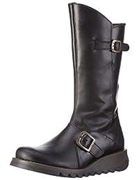 FLY LONDON MINX 女 品牌经典常青款 中筒靴MES P2103150(亚马逊进口直采,葡萄牙品牌