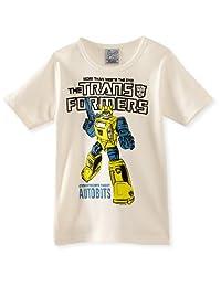 logoshirt 男孩儿童变形金刚大黄蜂 AUTOBOTS T 恤