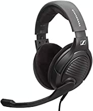 Massdrop x Sennheiser PC37X 游戏耳机 — 降噪麦克风,头戴式开孔设计,10 英尺可拆卸线缆和天鹅绒耳垫