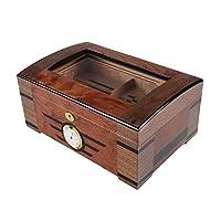 LUBINSKI西班牙雪松木雪茄盒实木雪茄保湿盒雪茄柜80只装雪茄箱