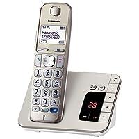 松下 電話KX-TGE220GN 1 Telefon + Anrufbeantworter 香檳