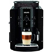 Krups 克魯伯 EA8108 全自動咖啡機(自動清潔 / 2杯功能 / CappucinoPlus 奶噴嘴系統 / 15 bar / 可制 Espresso),黑色