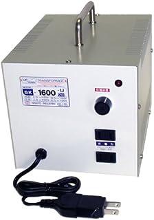 日章工业 变形金刚SK系列(电压增强・羽绒两用型) AC120V⇔AC100V1600W SK-1600U