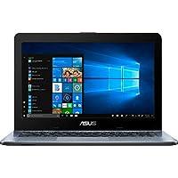 华硕笔记本电脑:14 英寸高级高性能/ AMD A6-9225 高达 3.0GHz/ 4GB DDR4 RAM/ 500GB HDD/ AMD Radeon R4/ WiFi/ 蓝牙/ USB 3.1 Type-C/ HDMI/银色渐变/ Windows 10 家庭操作系统