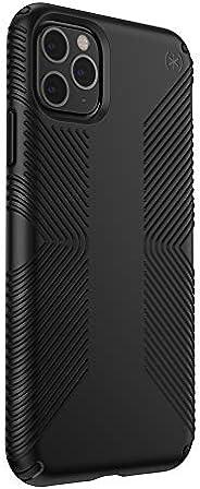 Speck 产品兼容苹果 iPhone 11 Pro Max,Presidio Grip 手机壳130026-1050 黑色/黑色