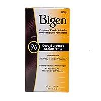 Bigen Permanent Powder Hair Color, Deep Burgundy, .21 Ounce