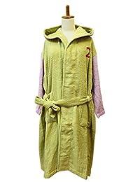 今治毛巾 浴袍 编号颜色 女士 2.浅绿色 MM0801-1250-08