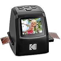KODAK 迷你數字膠片和幻燈片掃描儀 – 可轉換35毫米、126、110、*8毫米和8毫米膠片負片和滑動至22百萬像素 JPEG 圖像 – 包括 – 2.4 LCD 屏幕 – 輕松加載膜適配器