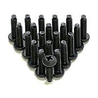 AudioRax 10-32 高点 48.26 厘米机架式安装螺丝带垫圈(25 件装)