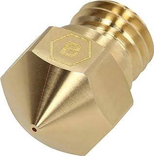 BROZZL MK10 黄铜喷嘴 0.8 毫米直径 适用于 3D 打印机