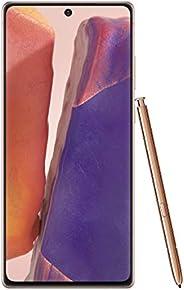 三星电子 Galaxy Note 20 5G 工厂解锁 Android 手机   美国版   128GB 存储   移动游戏智能手机   持久电池   神秘青铜 (SM-N981UZNAXAA)