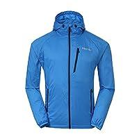 Marmot 土拨鼠 男士 运动健身防泼水透气连帽全天候户外夹克(神衣) S52430