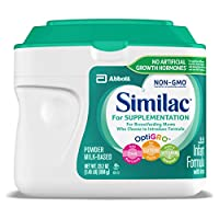 Similac 雅培 For Supplementation 婴幼儿配方奶粉,含铁,粉末,23.2 盎司(658g)(4 件装)