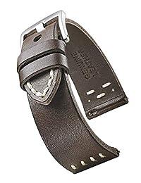 STUNNING SELECTION 皮革 棕色 370-2-20 表带