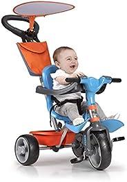 FEBER Famosa - 三轮车,适合9个月至3岁儿童 Kinder Baby Plus Music 多色
