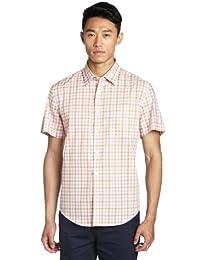 LINCS DC&CO 男式 短袖衬衫 WSU12160