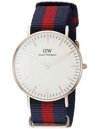 Daniel Wellington 丹尼尔•惠灵顿 瑞典品牌 Classic系列 玫瑰金表圈表扣 石英手表 女士腕表 DW00100029(原型号0501DW)