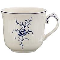 Villeroy & Boch 0.10 升优质骨瓷 La Classica Contura 咖啡杯,白色 1023411420