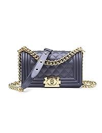 经典 SILICON 绗缝斜挎包奢华单肩手提包女式 purses 女孩
