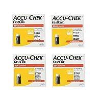 ACCU-CHEK FastClix Lancets 200+4 lancets (4 Pack)