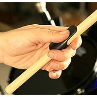 Drumstick Grips Zero 滑动式可重复使用的橡胶套套管,缠绕,蜡,浸渍或手套DSG-4 Double Pack