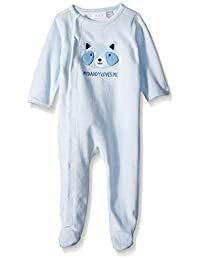 The Children's Place Baby Velour Sleep N' Play