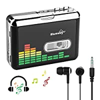 USB 盒到 MP3 转换器、便携式磁带录音机音频音乐播放器磁带到 MP3 转换器耳机,无需电脑