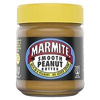 Marmite Smooth Rich in B Vitamins, No Added Sugar Peanut Butter 225 g