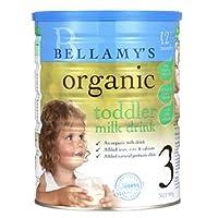 【跨境自营】澳洲 Bellamy's 贝拉米 有机婴幼儿牛奶粉3段(适合12-36个月宝宝食用) 900g(澳大利亚品牌)包税