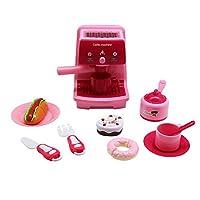 Forest & T3rd 儿童迷你咖啡机玩具套装,高品质玩具,适合小手制作,非常适合互动和创意游戏,食物和餐具,适用于各种场合的令人难以置信的儿童礼物