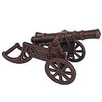 Design Toscano 皇家军学院收藏版桌面加农炮,9 英寸,棕色