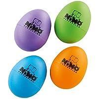 Meinl Ninoset540-2 Nino percussion 蛋摇铃 - 茄紫色/草绿色/天蓝色/橙色