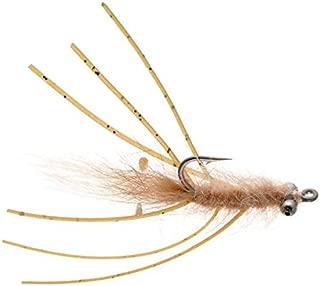 Umpqua Feather Merchants Mantis Shrimp WDLS VEVERKA 棕褐色 02-6 件装
