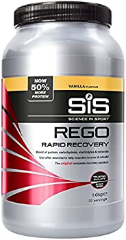Science in Sport Rego Rapid Recovery Protein Shake, Vanilla, 1.6 kg, 32 Servings