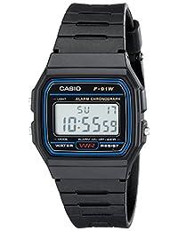 Casio 卡西欧 F91W-1 经典树脂表带数字运动手表