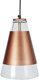 Tosel 15643 亚历山德里亚吊灯 Blech 钢 孔/绘画 环氧化物 200 x 900 毫米 Rich Copper 200 x 900 mm