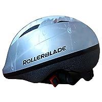 Rollerblade Zap 头盔儿童 XT 银色/黑色 S 码