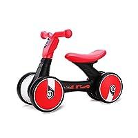 致暖Warmest 儿童平衡车 婴儿滑行学步车 宝宝周岁生日礼物 乐的系列扭扭车 (加大版 红色)