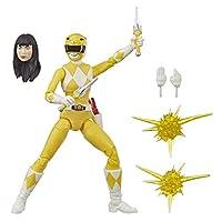 Power Rangers 闪电系列 15 厘米黄色威猛的莫芬游侠雕像