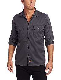 Dickies 男式长袖 wl576修身休闲衬衫