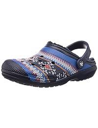 Crocs 卡骆驰 凉鞋 经典 印花线条洞鞋