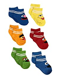 Sesame Street 男童多件套袜子(幼儿/小童/大童)