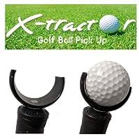 X-Tractor - 高尔夫球拾取工具 - 黑色