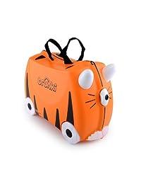 英国 Trunki 骑坐式小型行李箱-小老虎(Tipu) TR0085-GB01