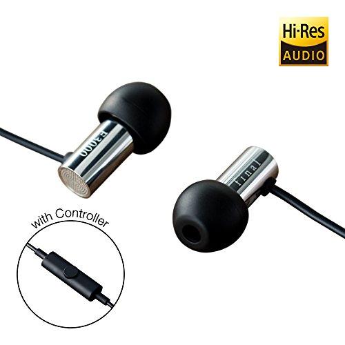 耳の中の最後のE3000マイクコントローラFI-E3DSSC付きヘッドフォン